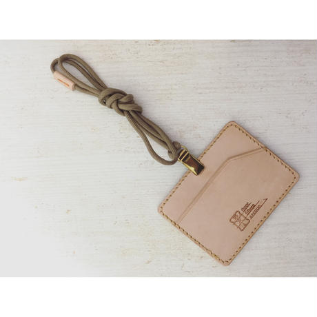 hourglass id card case