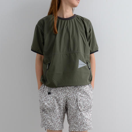 and wander / Pertex wind T / Women