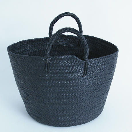 Aeta / Leather basket  M
