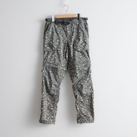 and wander / Geometric printed trek 2way pants
