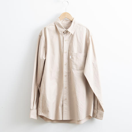 S H / REGULAR COLLAR SHIRT / 2020AW