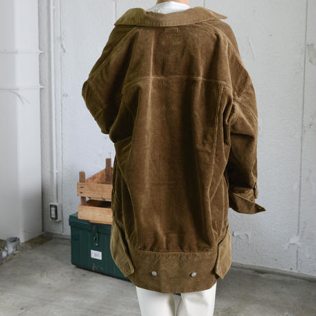 WESTOVERALLS / 899B CORDUROY BIG TRACKER JKT