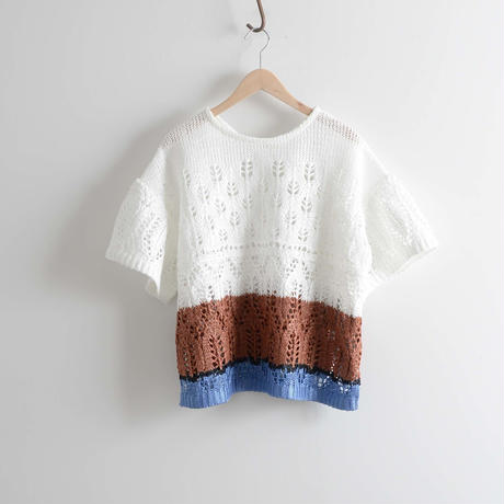 COOHEM / SUMMER LACY KNIT P/O