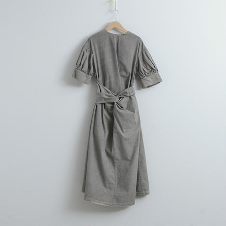 COSMIC WONDER / Beautiful organic cotton wrapped dress