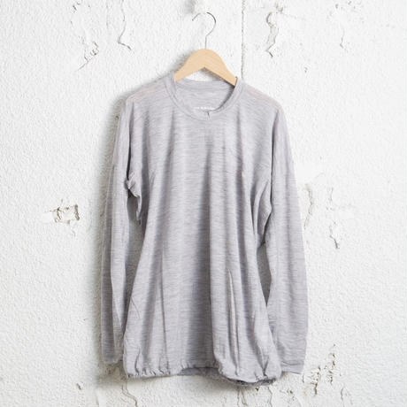 and wander/ Merino base long sleeve T