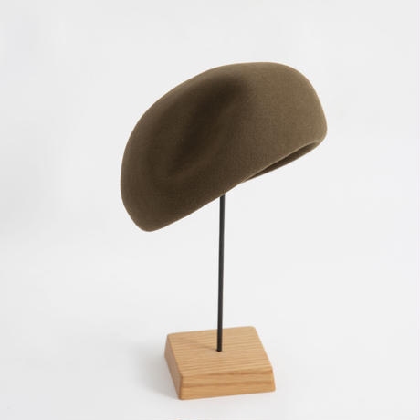 mature ha. / Japanese old wooden block beret