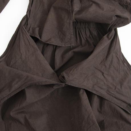 COSMIC WONDER / Beautiful Organic cotton wrapped dress
