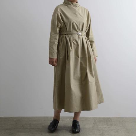 COSMIC WONDER / Ancient mythic cotton turtleneck dress