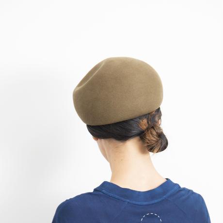 mature ha. / Japanese old wooden block beret