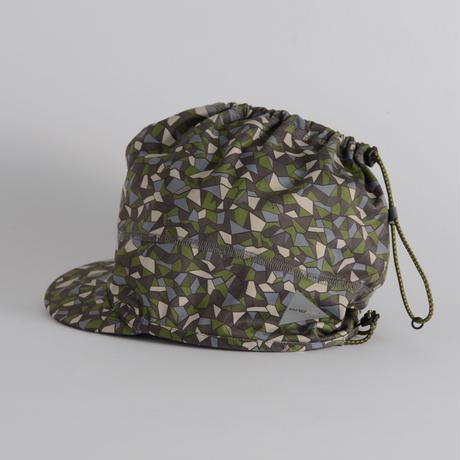 and wander / Geometric printed soft shell cap