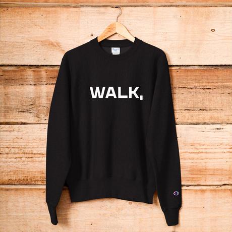 「WALK,」スウェット