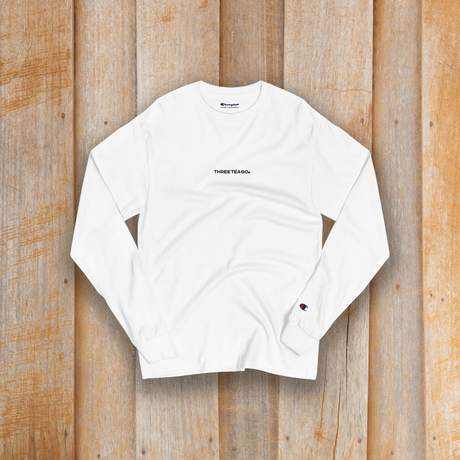 THREETEAGO×Champion ロングスリーブTシャツ(Small Logo)