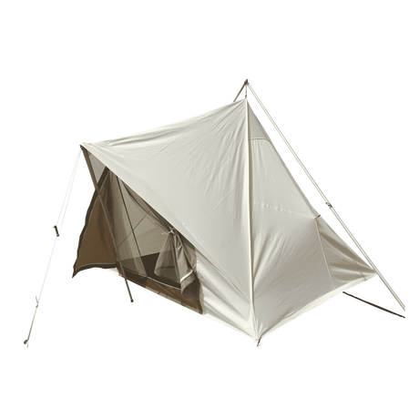 THE PRAIRIE TENT 12FT×12FT フロア脱着式