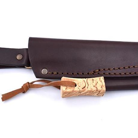 BRISA/ブリサ アウトドアナイフ TRAPPER 95 カーリーバーチ