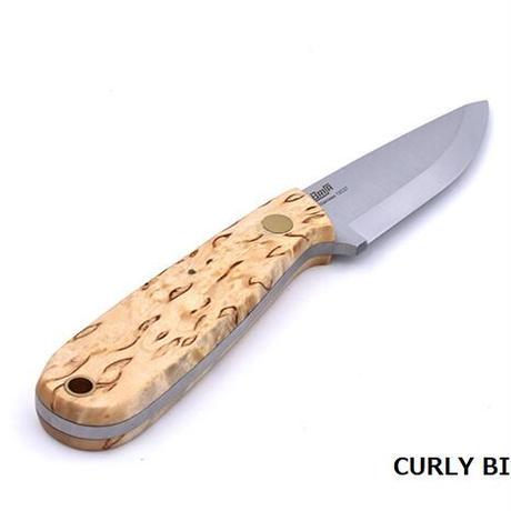 BRISA/ブリサ アウトドアナイフ NECKER 70 カーリーバーチ/オリーブ/マイカルタ