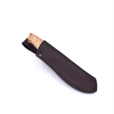 BRISA/ブリサ アウトドアナイフ NESSMUK 125 カーリーバーチ