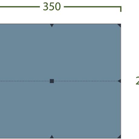 Bitihorn Superlighjt Tarp 3.5 × 2.9