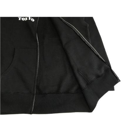 TOKYO VOICE Zip-up Parka Black  ※税込・送料込