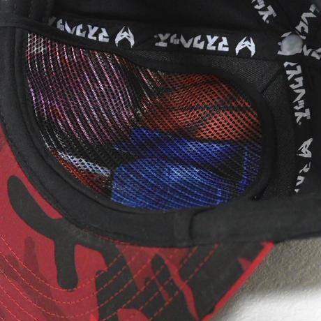 【仮面ライダービルドxマスクヘッズ®】キッズツイルキャップ 仮面ライダービルド  /レッドカモフラージュ