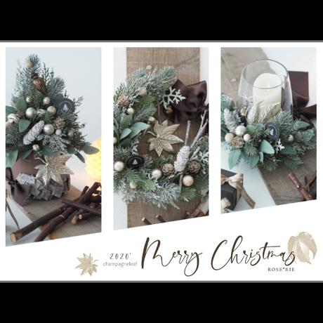 Merry Christmas2020' Tree arrangement【レッスンキット】★☆☆