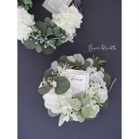 Petitflower Wreath【完成品】
