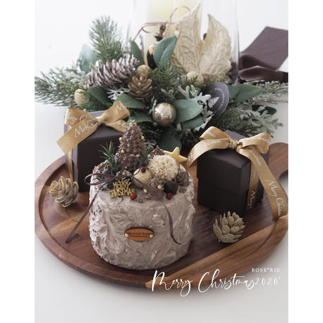 WhipClayCakeLesson:Christmas Cake【レッスンキット】★☆☆