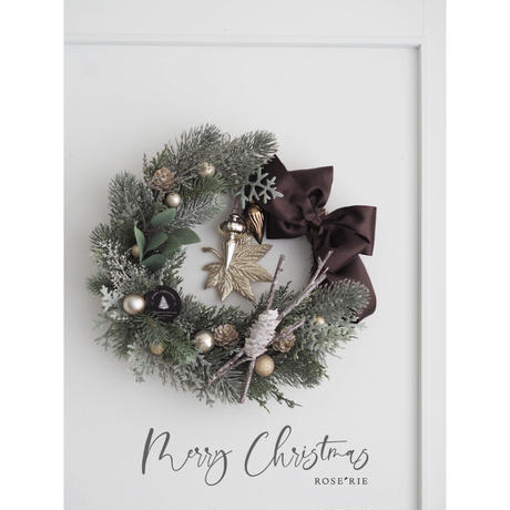 Merry Christmas2020' Wreath【レッスンキット】★☆☆