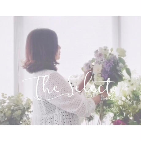 The select:ピンク花束