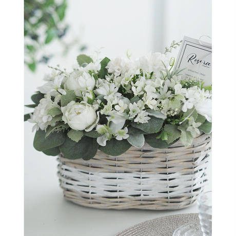 Petitflower Basketアレンジ【レッスンキット・動画】