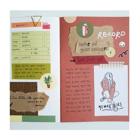 [BONBEING]bonbon sticker pack vol.2