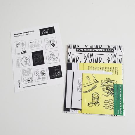 [BONBEING]bon mind sticker pack