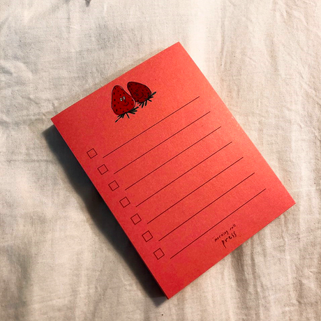 strawberry checklist 2