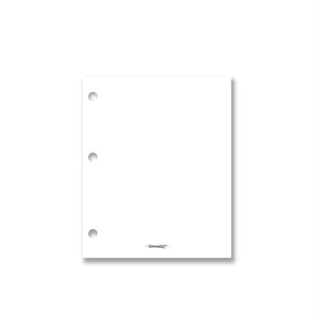 [Jeongo-innerside]3hole mini diary refill