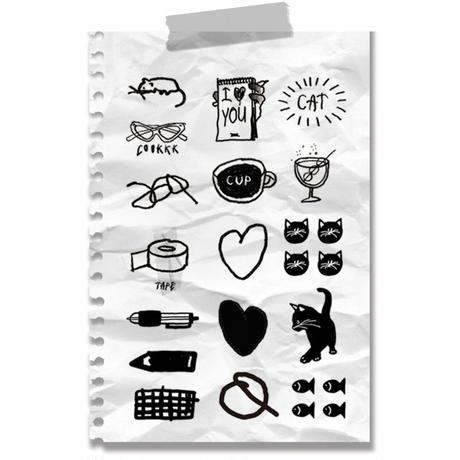 [Jeongo-innerside]drawing sticker 06