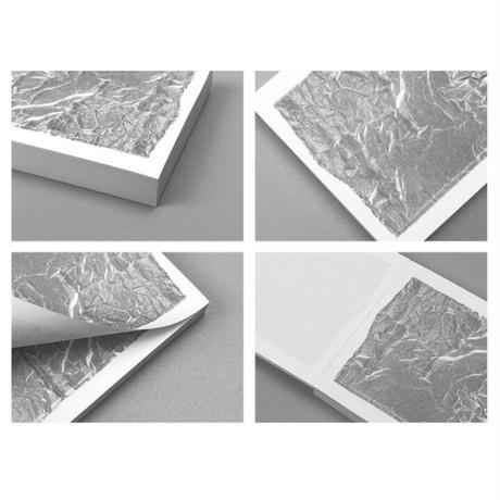 [PLAN-DE]tape memo pad (silver & blue)
