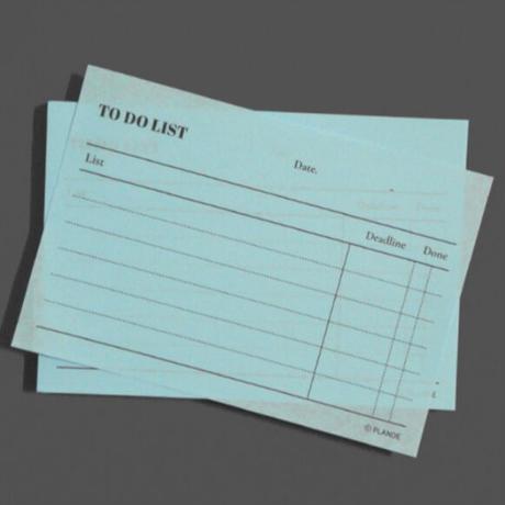 [PLAN-DE]to do list