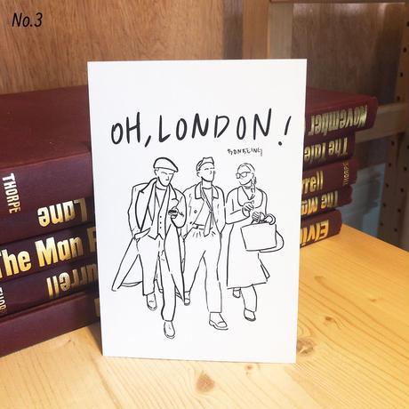 bon bon postcard