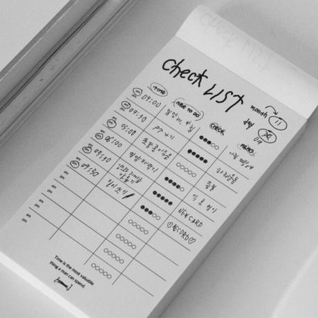 [Jeongo-innerside]check list