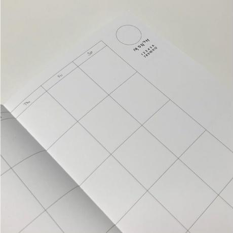 [Jeongo-innerside]12monthly diary