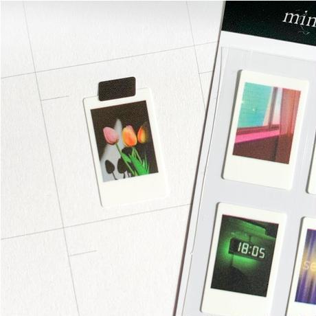[mingkit]goodnight instant photograph seal sticker
