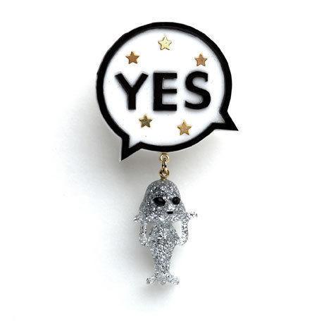 YES+火星人のピアス / 2色