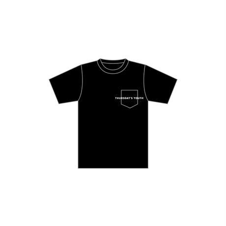 logo pocket T-shirt Black