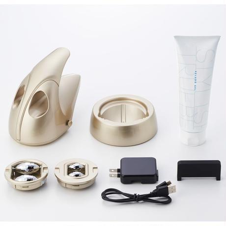 レセス ボディ ハンディタイプ式吸引ローラー+EMSローラー美容器