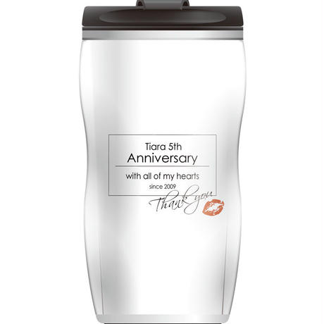 Tiara 5th Anniversary タンブラー