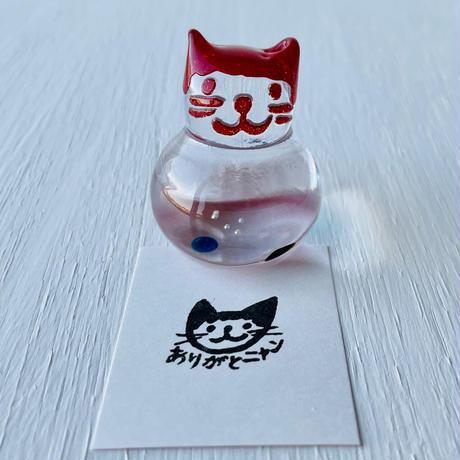 赤猫ハンコ(ありがとニャン①)