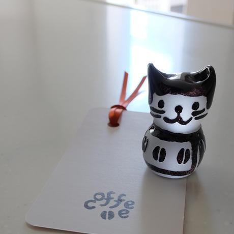猫ハンコ(コーヒー豆猫の黒ちゃん1)