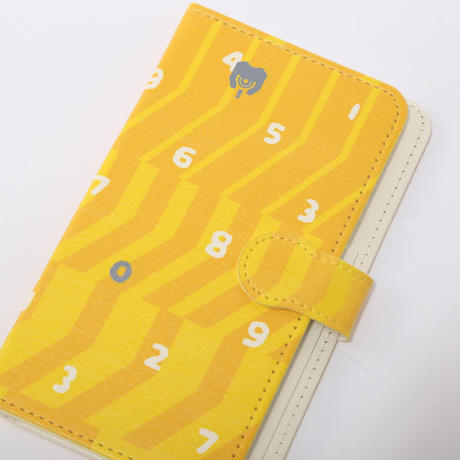 EVANGELION Android Diary Case (textile design by SOU・SOU) 零号機