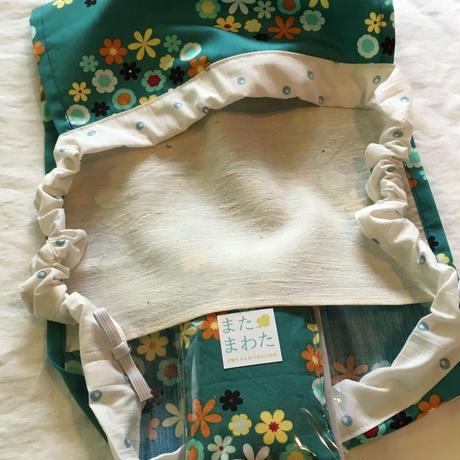 【柄おまかせ】絹ポケット付きF☆Pan【Sサイズ】×またまわた FERI-DAファブリック