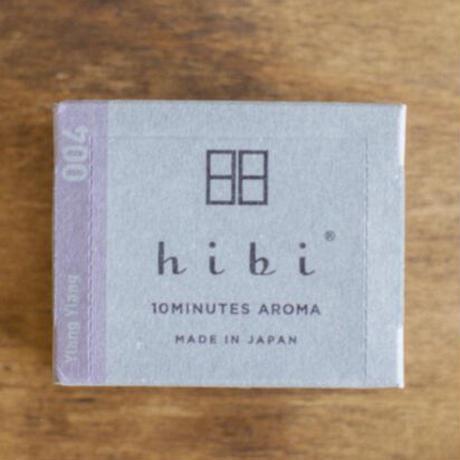 hibi お香スティック ラージボックス 専用マット付