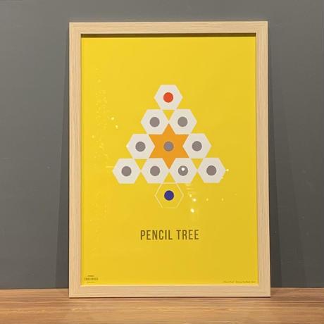 Pencil Tree - YELLOW